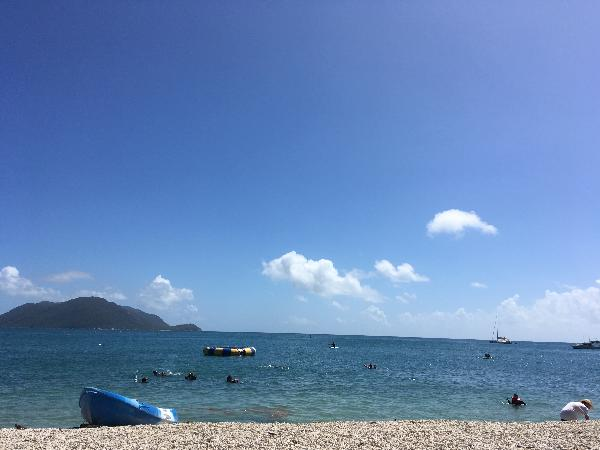 Pier view at Fitzroy Island