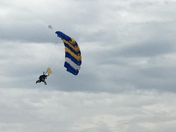 Skydiving St Kilda