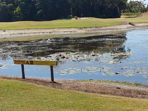 Stay away from water hazards