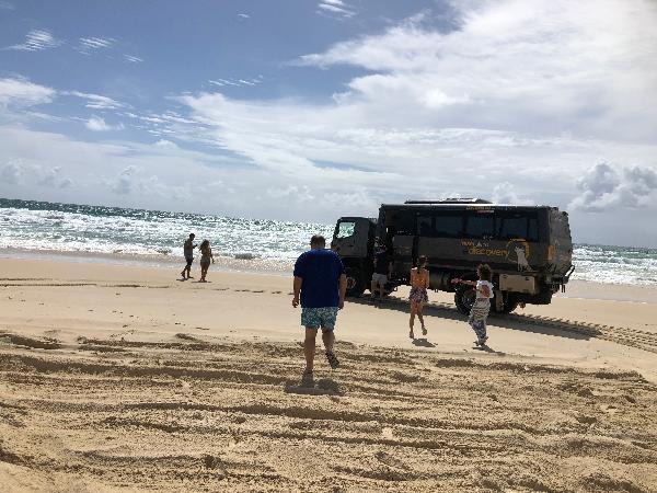 Gari (Fraser Island) Tour