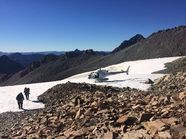 Snow landing