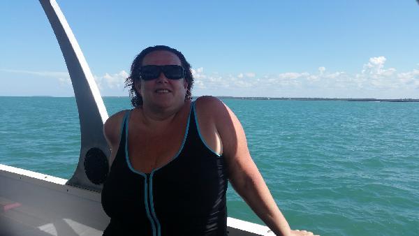 Me at Marine Park Hervey Bay