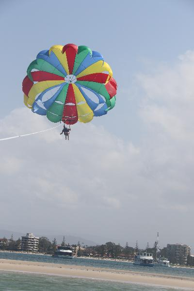 Awesome day Parasailing.