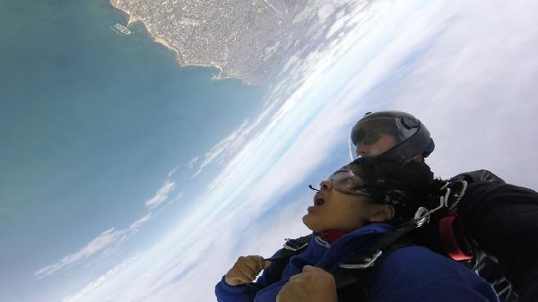 Just jumped from 15,000 ft