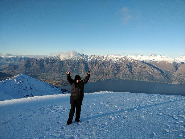 """Thank You to the """"Over The Top"""" team for taking us to one of the most magical view points in NZ"""