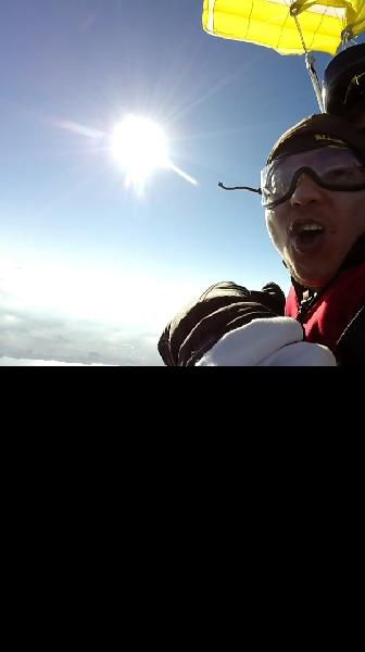 ski dive