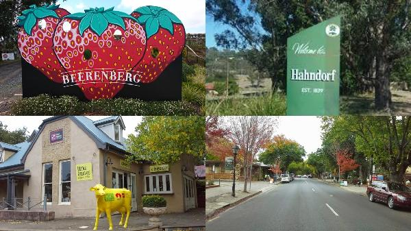 Hahndorf Stop over in teh Adelaide Hills