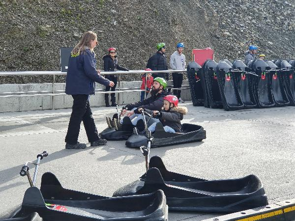 Luge family fun