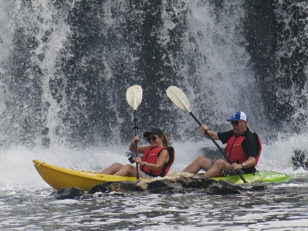 Cruise and kayak