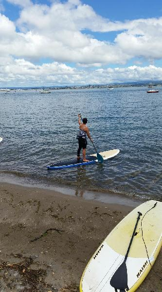 Anyone can paddle board!