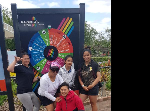 Family outing at Rainbowz End