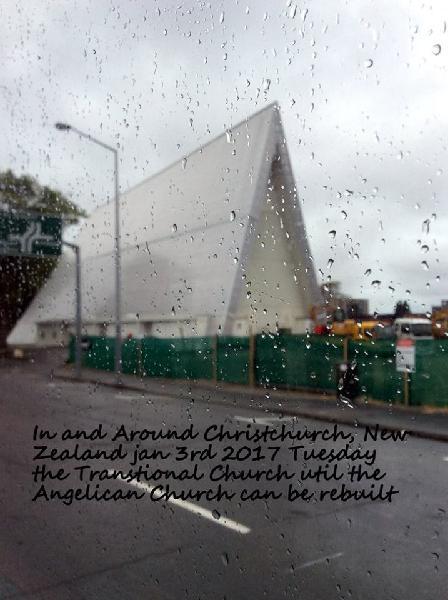 new regent street, cardboard church, bridge of remembrance