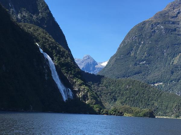 Stunning views of Milford Sound.