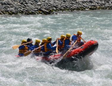Fantastic rafting experience