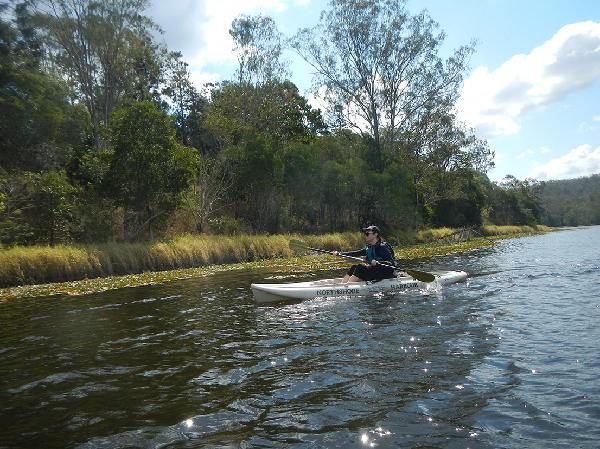 Paddling @ walkabout creek