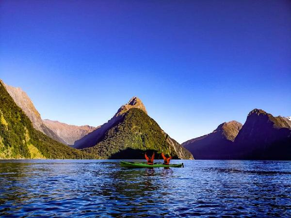 Best way to see Milford sound!