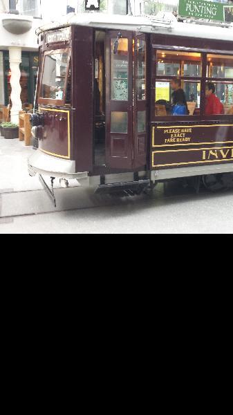 The little tram!