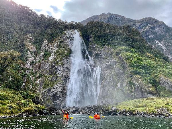 Fun kayaking experience