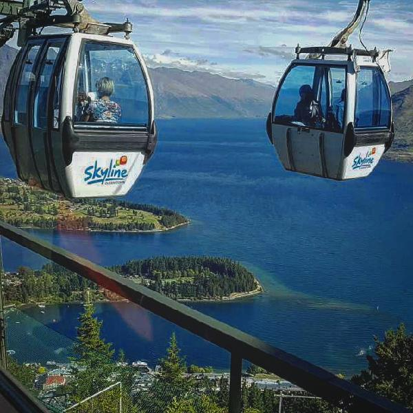 Skyline Queenstown - Gondola, Dinner & 4 Luge