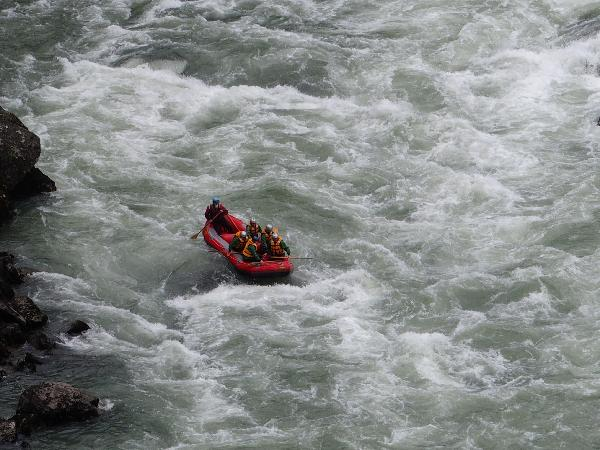 Earthquake Rapids on the Buller River.
