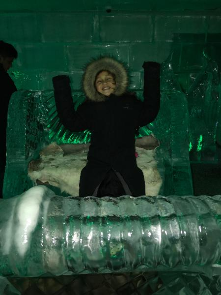 Ice Bar- Great Family Fun
