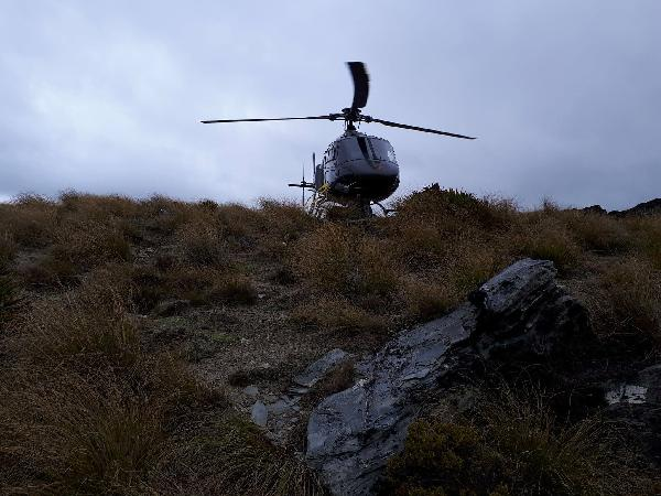 Helicopter ride 20th November 2017
