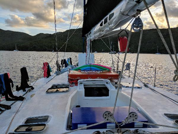 Relaxed sailing trip