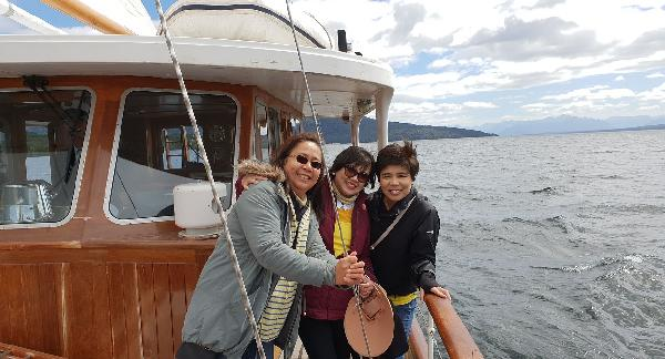 A reunion of the angels after over 30 years was capped with a superb experience on the Faith in Fiordland.