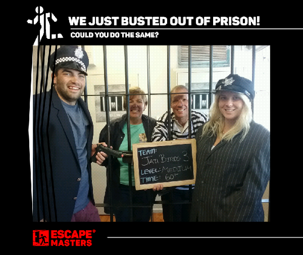 Prison break!
