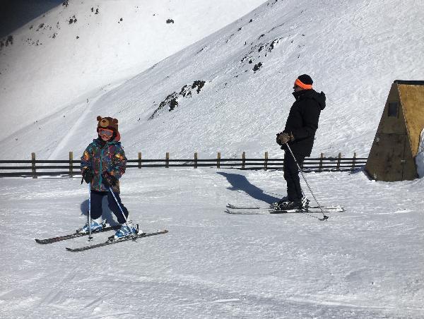 Family ski day