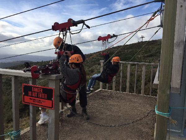 Exceptional zipline experience