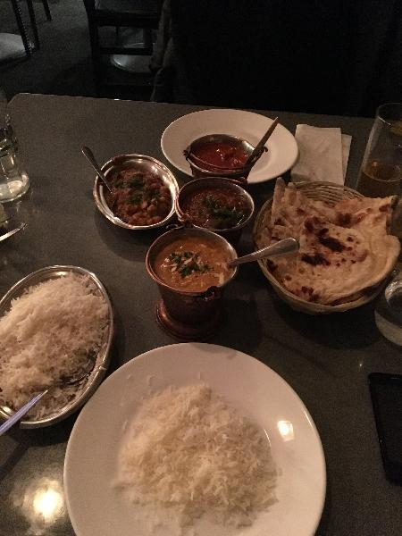 A taste of India on a plate