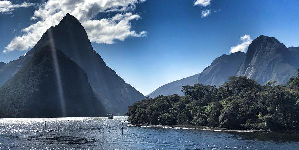 Milford Sound - great day!