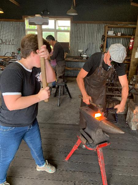 Blacksmithing Course - Kowhai Forge - Epic deals and last