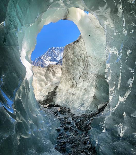 Magic glacier