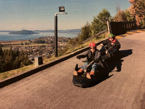 Luge is great fun