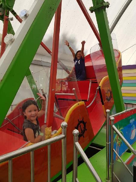 Wooooohoooooo!!! kids loved this area of the park..