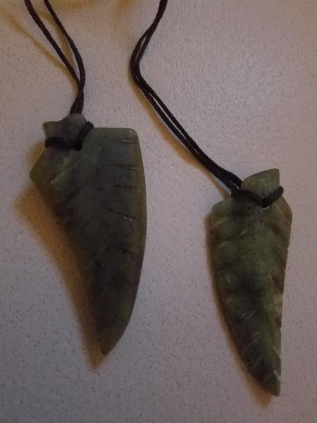 Silver fern leaves