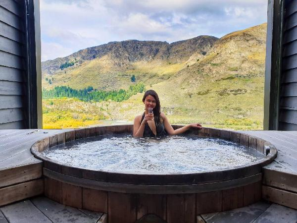 Onsen tandeki hot pool