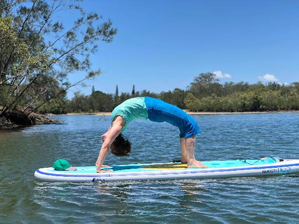 Great SUP YOGA experience
