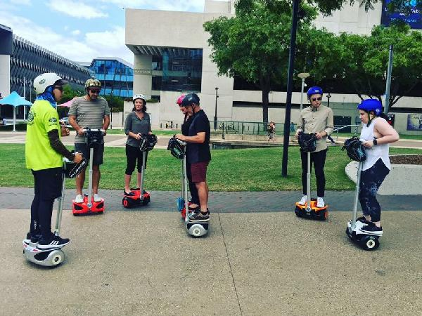 XWing Segway first timers