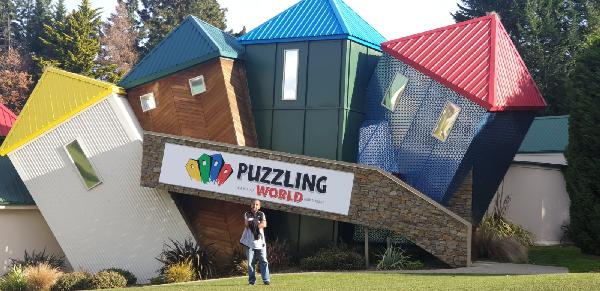 Don't get puzzled.......just visit PUZZLING WORLD !!!