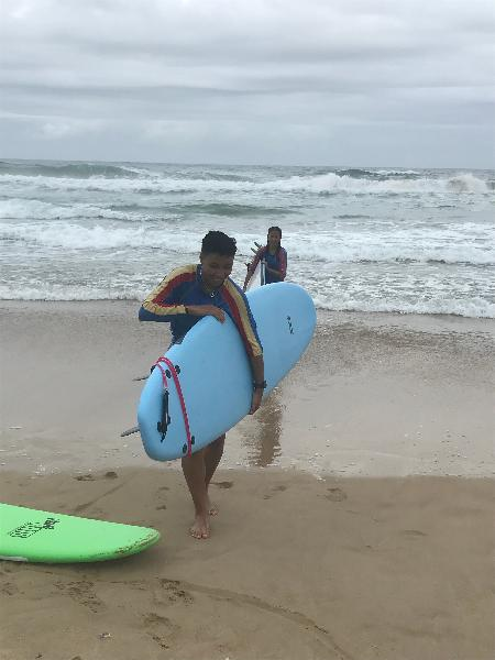 Great 1st surf lesson