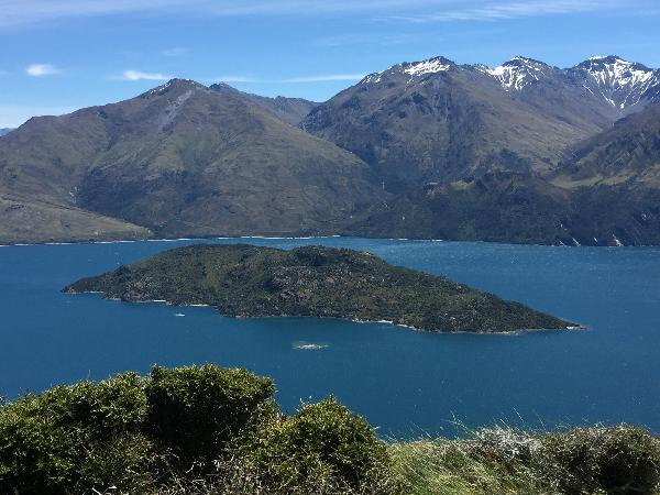 Stunning views over the lake