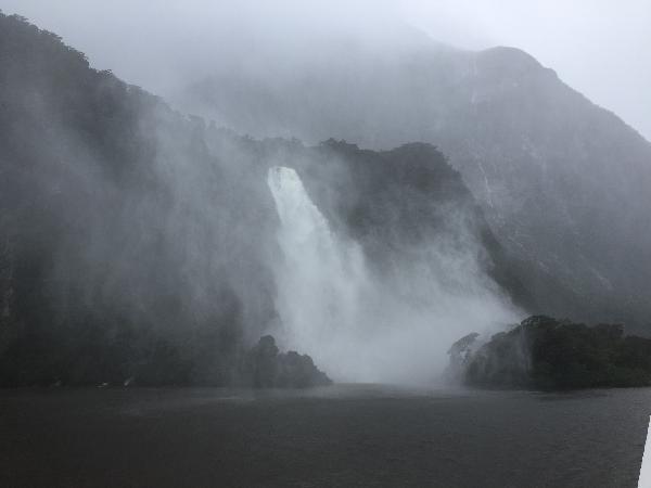 So many waterfalls!!