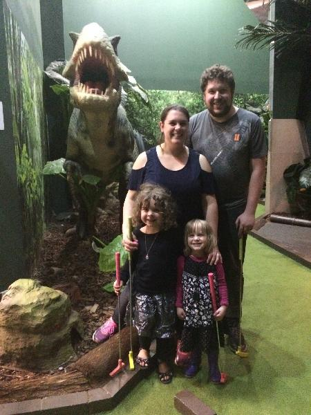Family day out at Lost in Time!