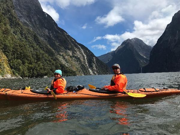 Kayaking Milford Sound!!!
