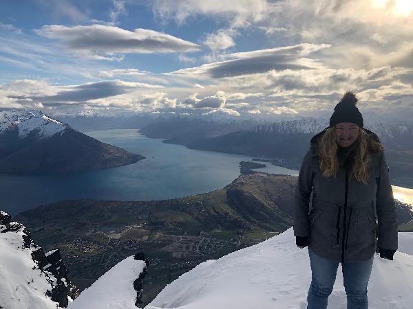 Amazinggggg helicopter ride and alpine landing