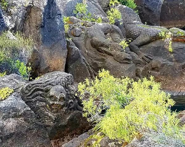 Amazing carvings full of Māori talent