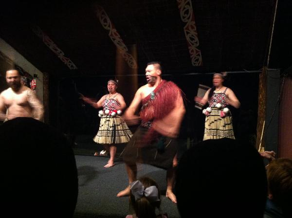 Maori cultural dinner delight!